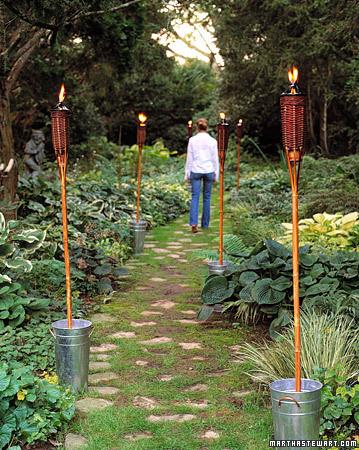 Antorchas para tus fiestas de verano for Antorchas jardin