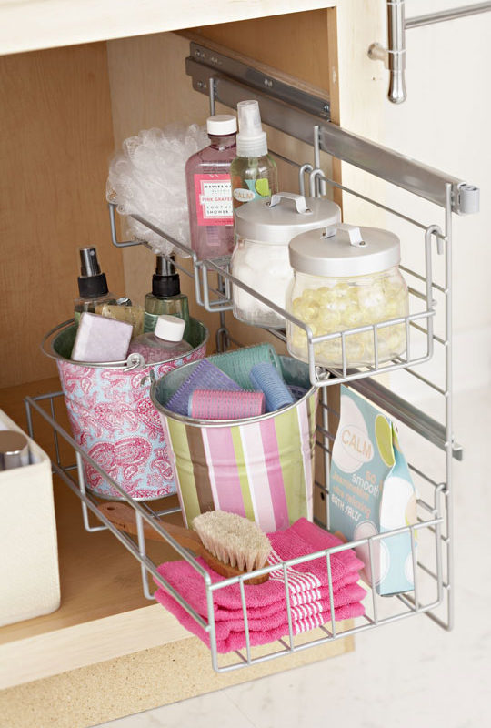 Cómo mantener el baño organizado