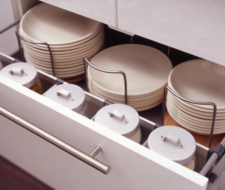 Aprovecha al m ximo los cajones o gaveteros de la cocina - Ikea organizadores cajones ...