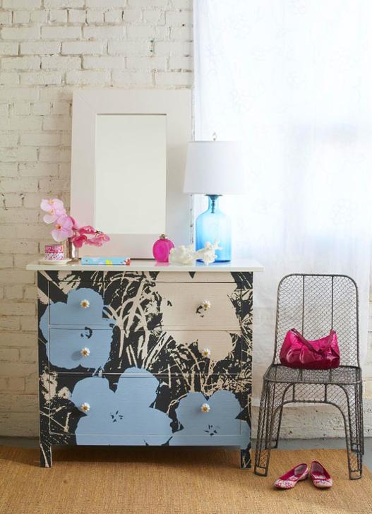 C mo transformar un mueble con color e imaginaci n - Transformar un mueble ...