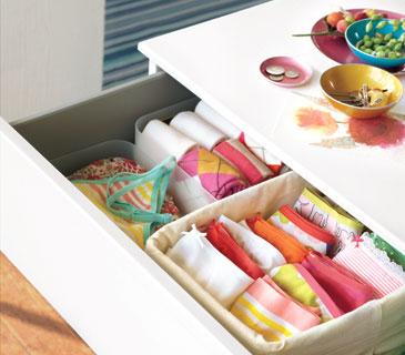 Organiza tus cajones con separadores - Organizador de ropa interior ...