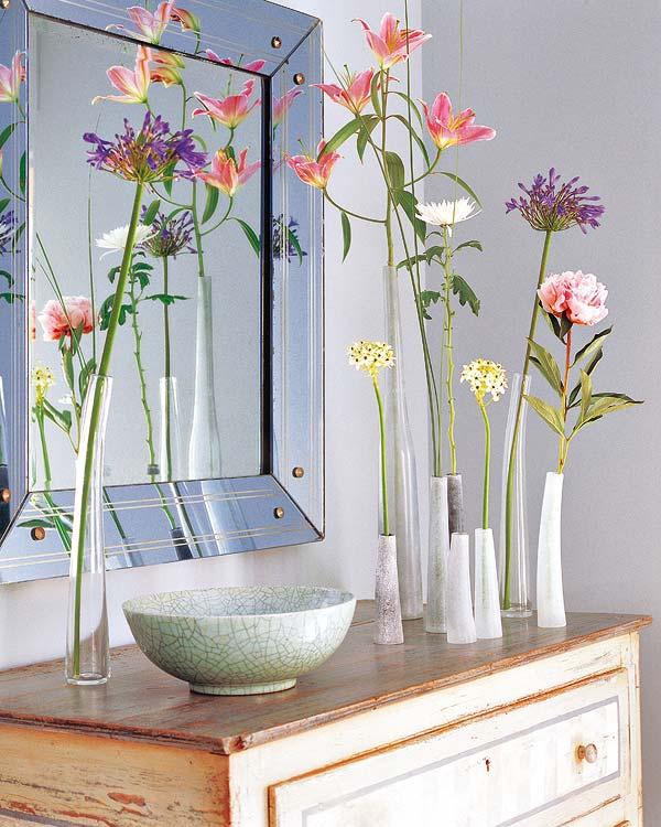 Rincones con encanto… ¡y flores!
