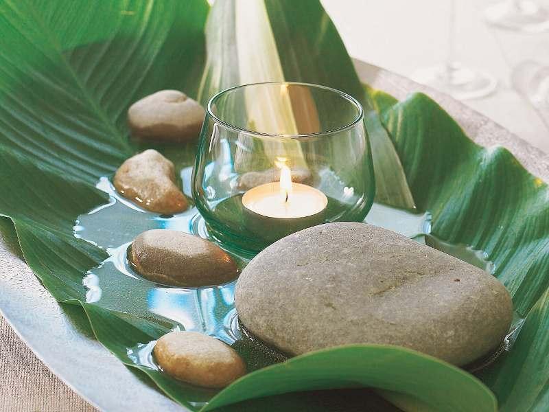 C mo crear un original centro de mesa - Decoracion jardin zen ...