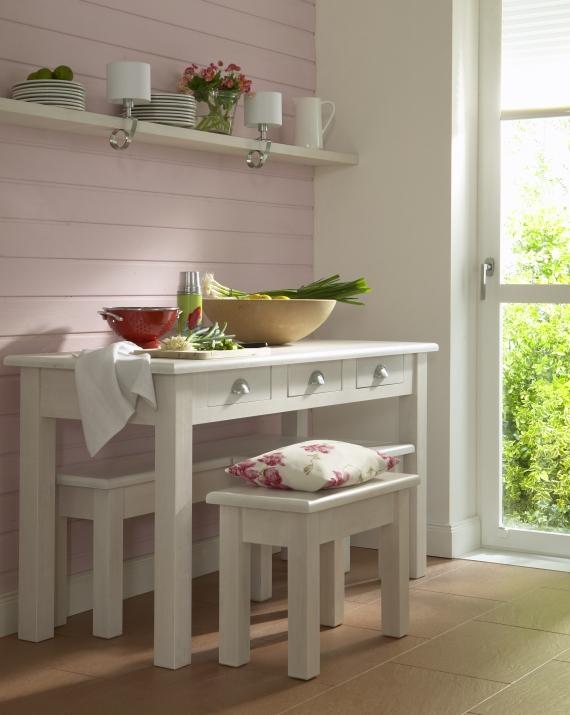 Soluciones para cocinas peque as - Mesa para cocina pequena ...