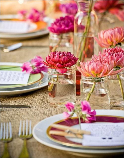 Ideas Con Encanto Para Decorar La Mesa - Decorar-una-mesa