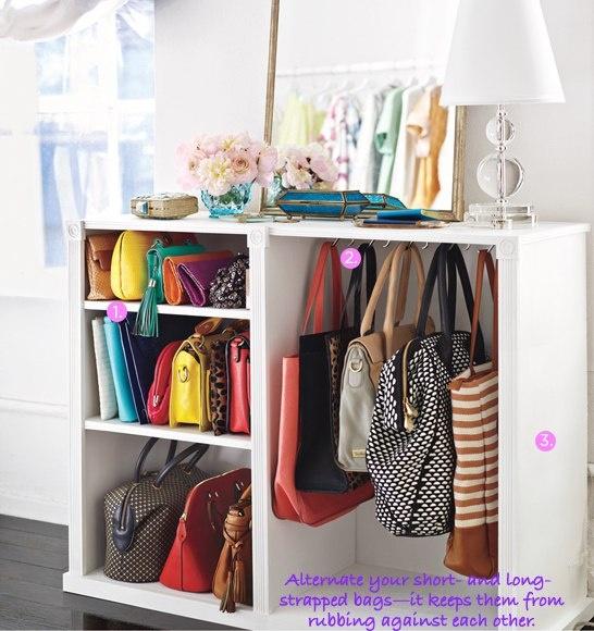 necesitas m s espacio para tus bolsos. Black Bedroom Furniture Sets. Home Design Ideas