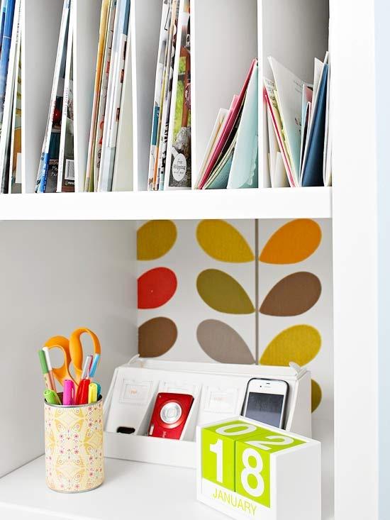 Ideas con encanto para tus papeles en casa - Ideas para organizar papeles en casa ...