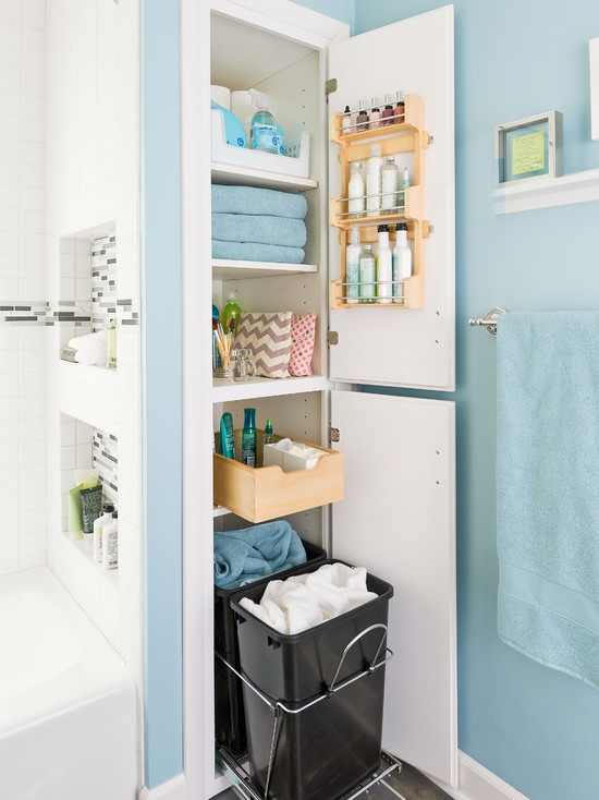 Soluciones para ba os peque os - Soluciones para pisos pequenos ...