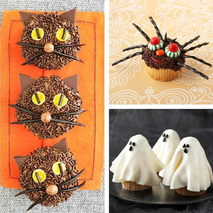 Cupcakes para tu fiesta de halloween - Decoracion halloween para casa ...