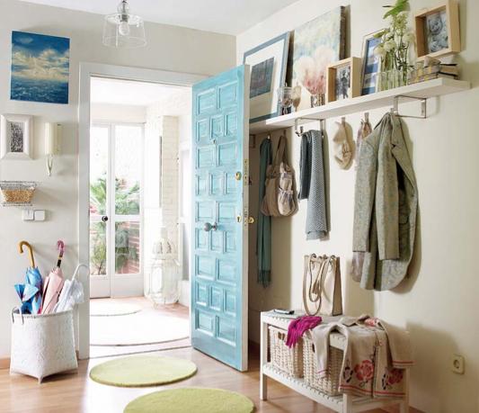 C mo decorar una entrada para que habla de t - Ideas para decorar una entrada de casa ...