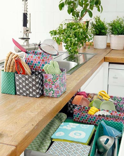 Rincones con encanto en la cocina - Objetos decoracion cocina ...