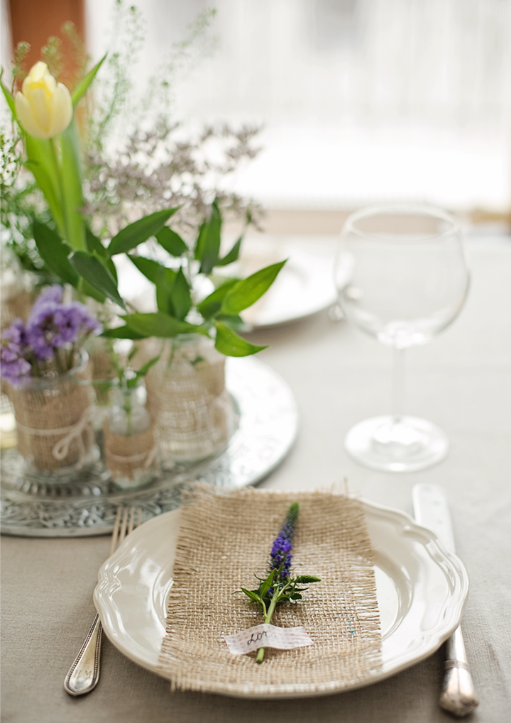 Una idea sencilla para decorar tu mesa de primavera - Ideas para decorar una mesa ...