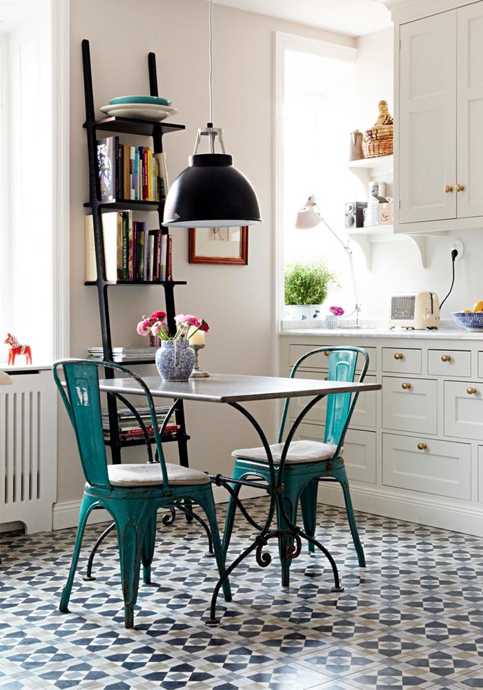 Detalles con encanto en la cocina for French bistro kitchen ideas