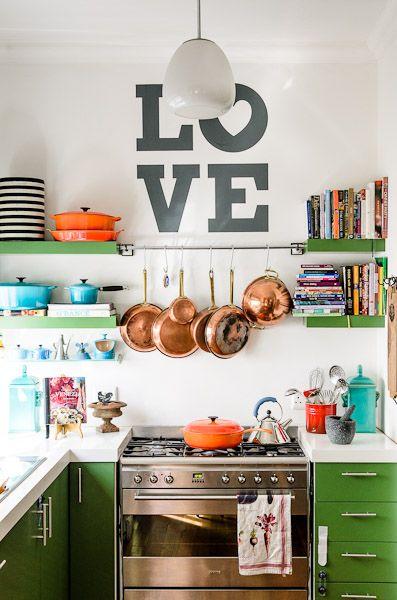Detalles con encanto para cocinas peque as - Cocinas pequenas con encanto ...