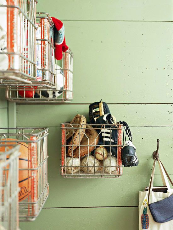 Ideas para organizar (de una vez por todas) el garaje