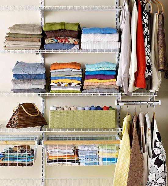 Ideas para organizar (y mantener organizado) tu armario