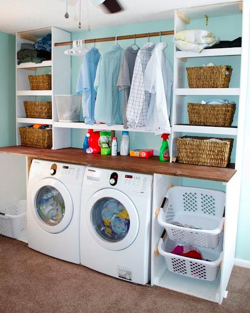 Ideas para organizar tu lavander a for Ideas para lavaderos