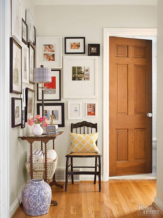Ideas para decorar pasillos y espacios de paso - Ideas para decorar pasillos ...