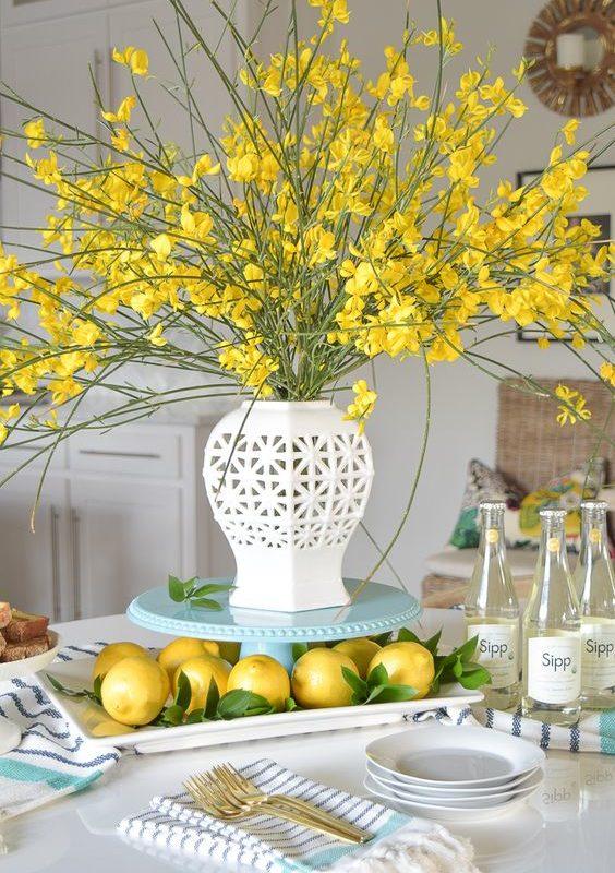 Cómo añadir un toque de primavera a tu mesa