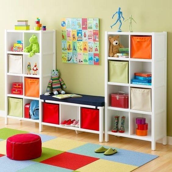 Ideas para organizar el cuarto de los niños